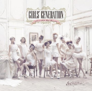 Girls Generation 1st Japanese Album