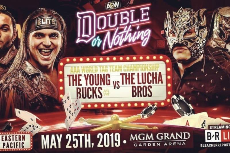 AEW Double or Nothing - Bucks Lucha Bros