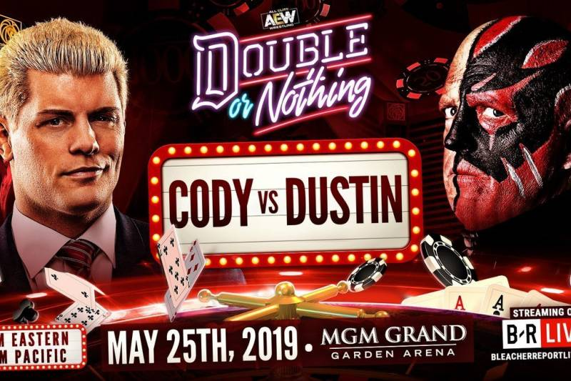 AEW Double or Nothing - Cody Dustin