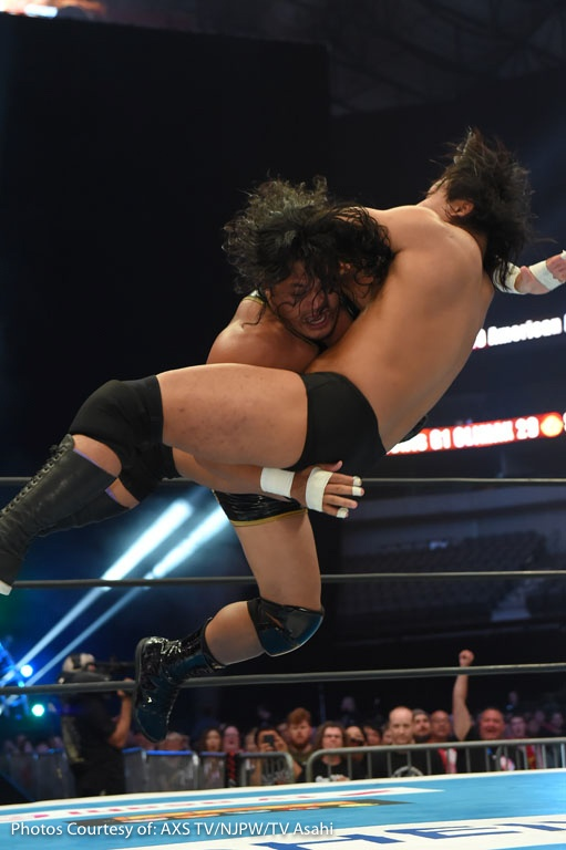G1 CLIMAX DALLAS AXS-13