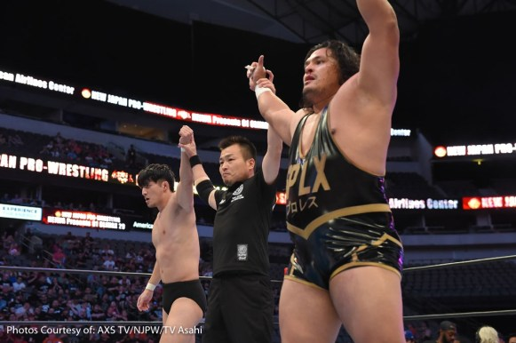 G1 CLIMAX DALLAS AXS-17