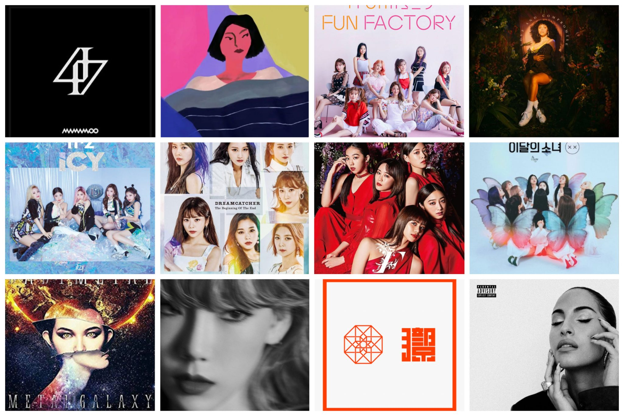 2019-Year-End-Albums