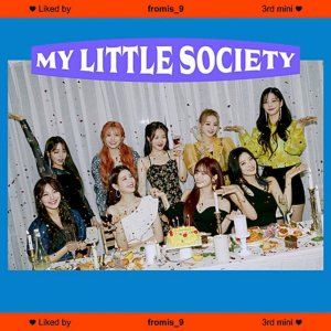fromis9 My Little Society Cover