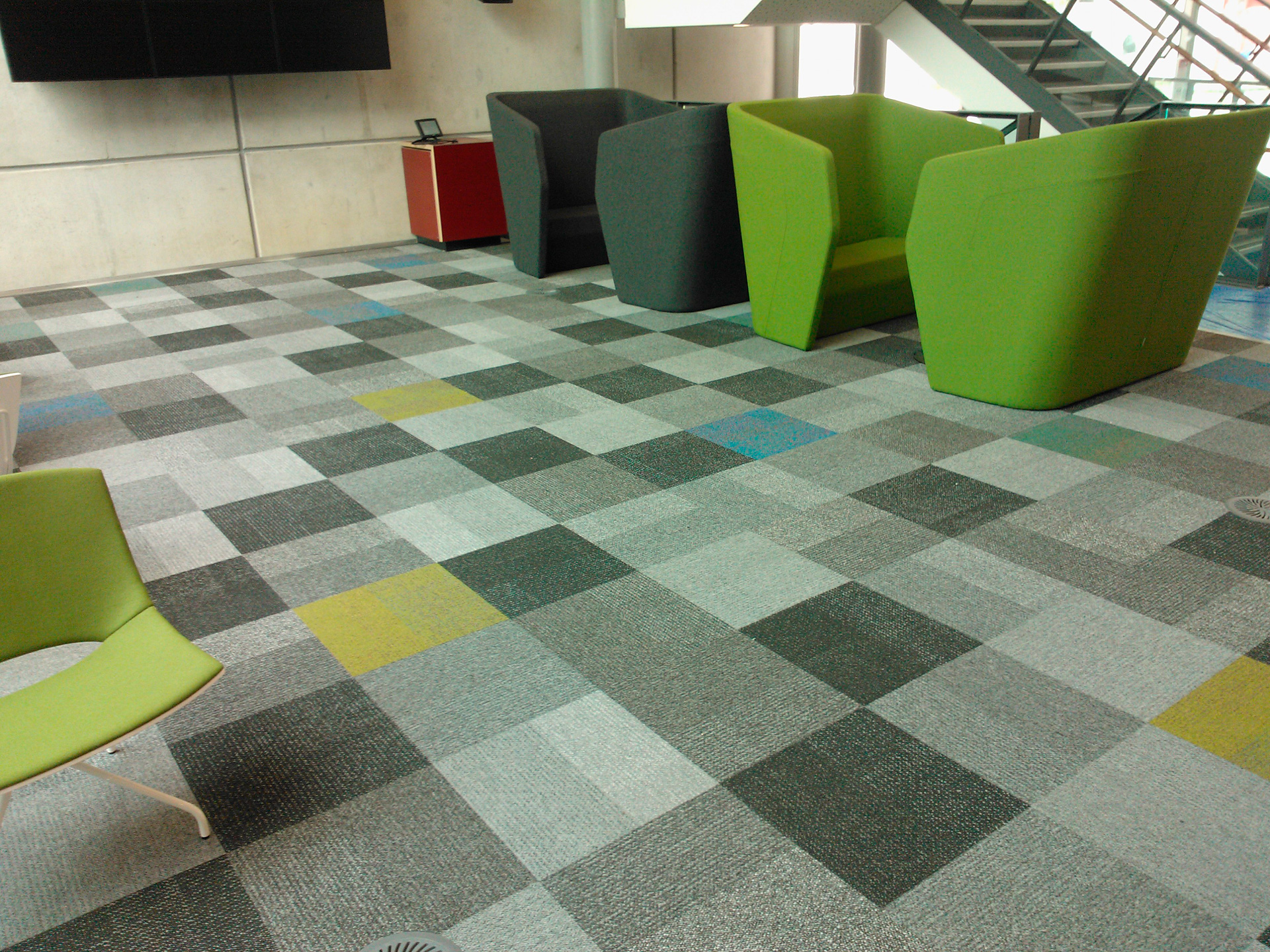 Interface Outlook carpet tile by INZIDE Commercial  Selector