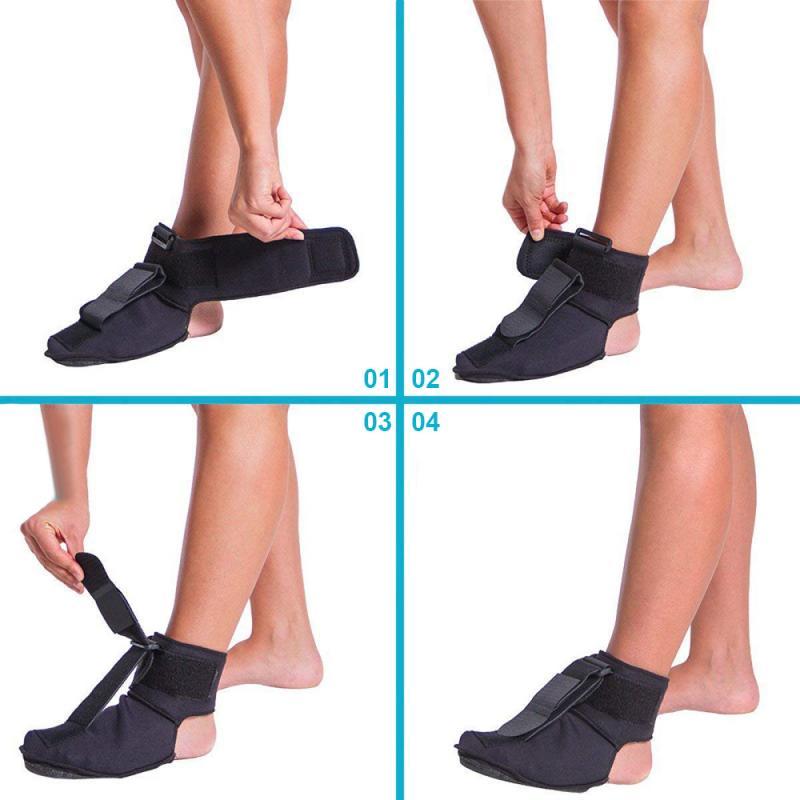 Adjustable Plantar Fasciitis Dorsal Night & Day Splint Foot Orthosis Stabilizer