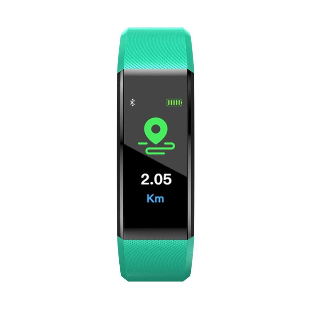 Smart Band Waterproof Sport Pedometer Heart Rate Blood Pressure Monitor