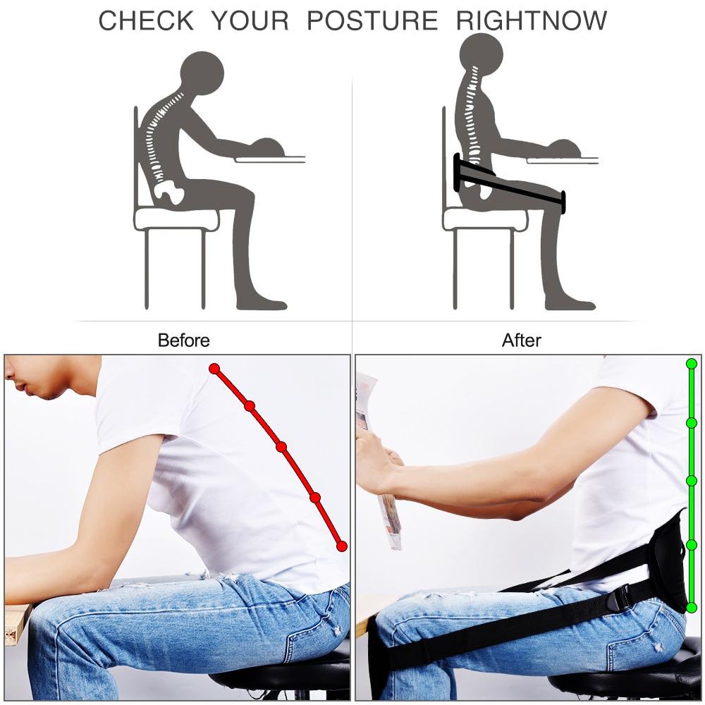 Back Posture Correction Belt Sitting Posture Corrector Back Support Belt