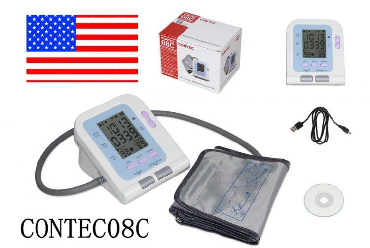 Digital Lcd Upper Arm Blood Pressure Monitor Heart Beat Meter Machine