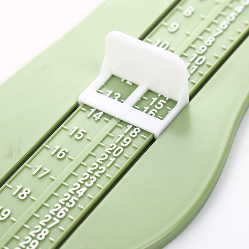 Infant Foot Ruler Shoes Length Growing Foot Fitting Ruler Tool