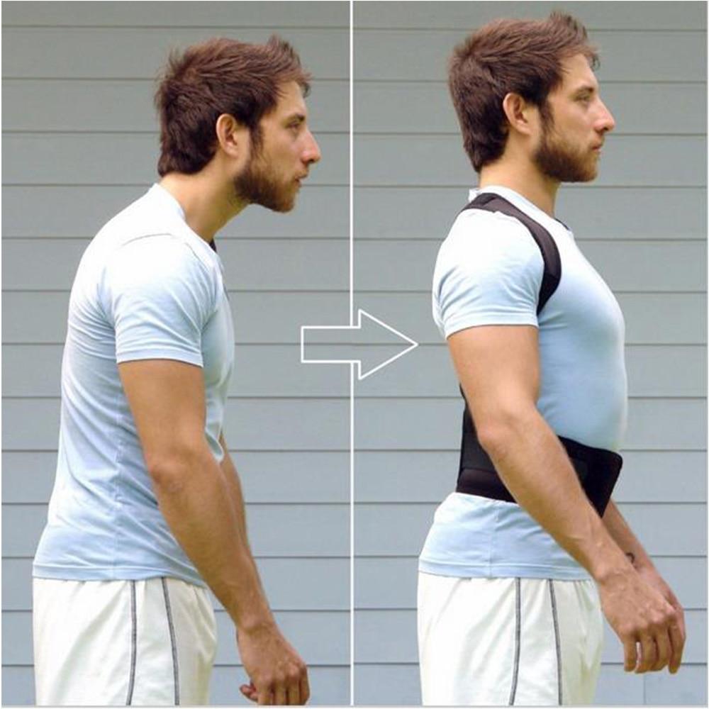 Adjustable Magnetic Posture Corrector Corset Back Brace Back Belt