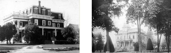 historic photo of churchill manor