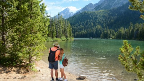 Grand Teton National Park in the Summer