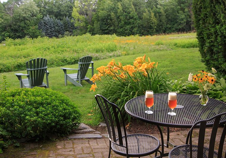 Chesterfield Garden Table