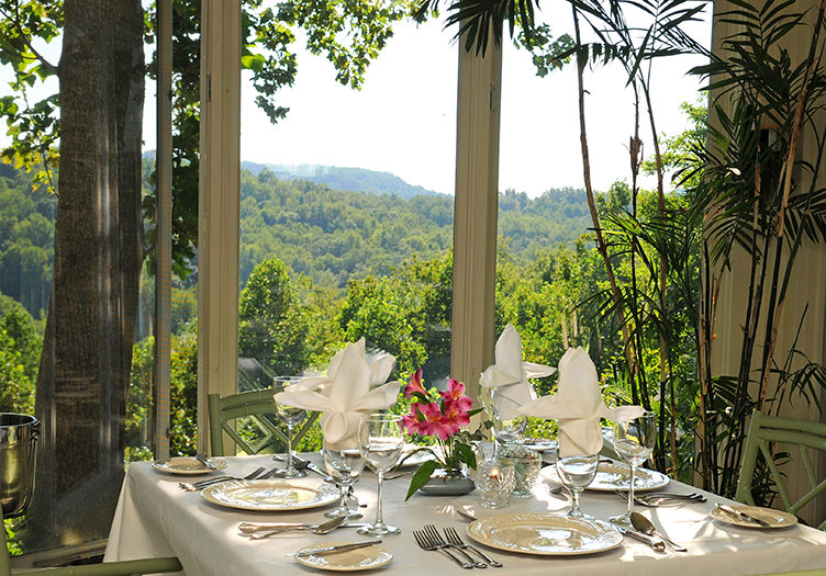 Orchard Inn Dining with View