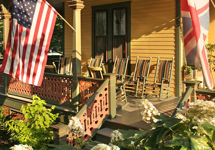 Queen Victoria Porch