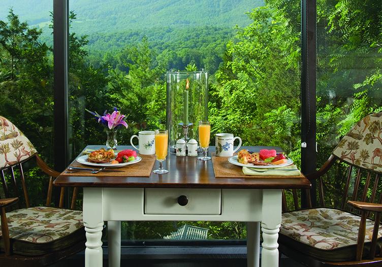 Richmont Inn Breakfast View