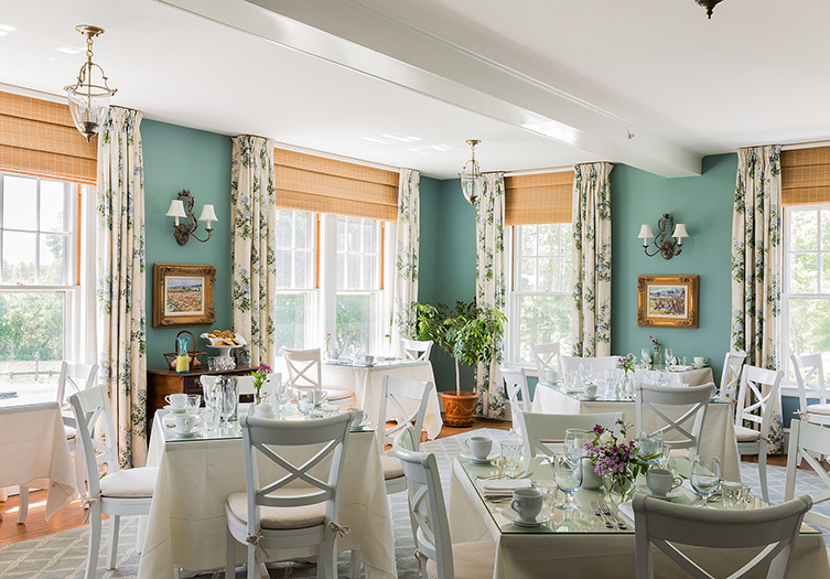 The Inn at Castle Hill Dining Room