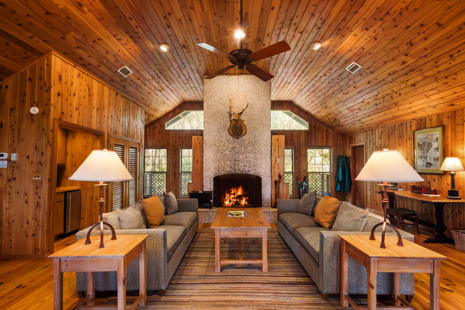 The River Lodge Living Room