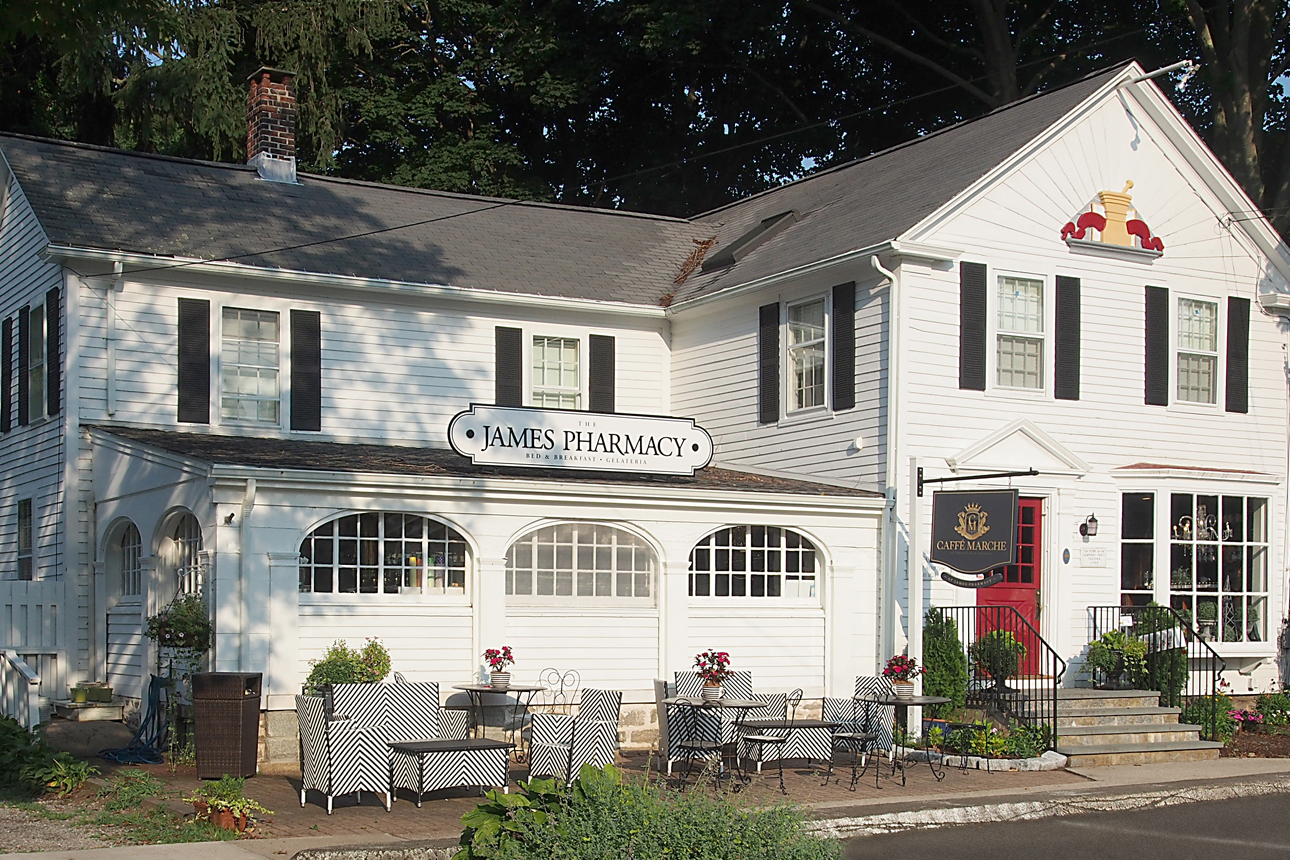 James Pharmacy Bed & Breakfast and Gelateria
