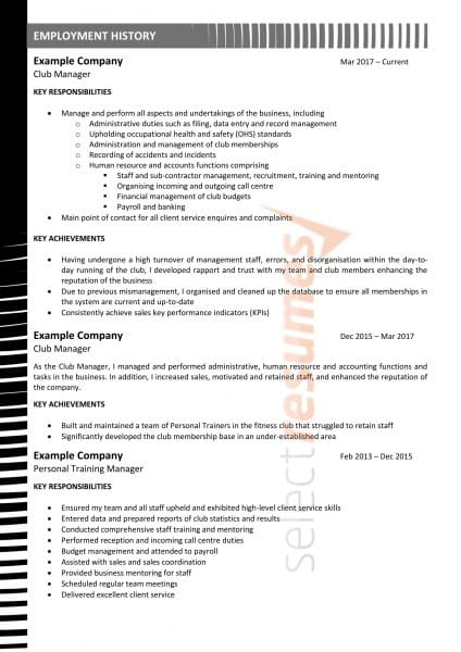 Executive Design 194 Select Resumes