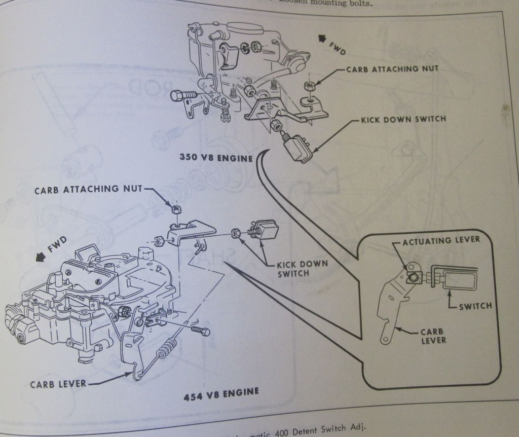hight resolution of re th400 downshift switch wiring