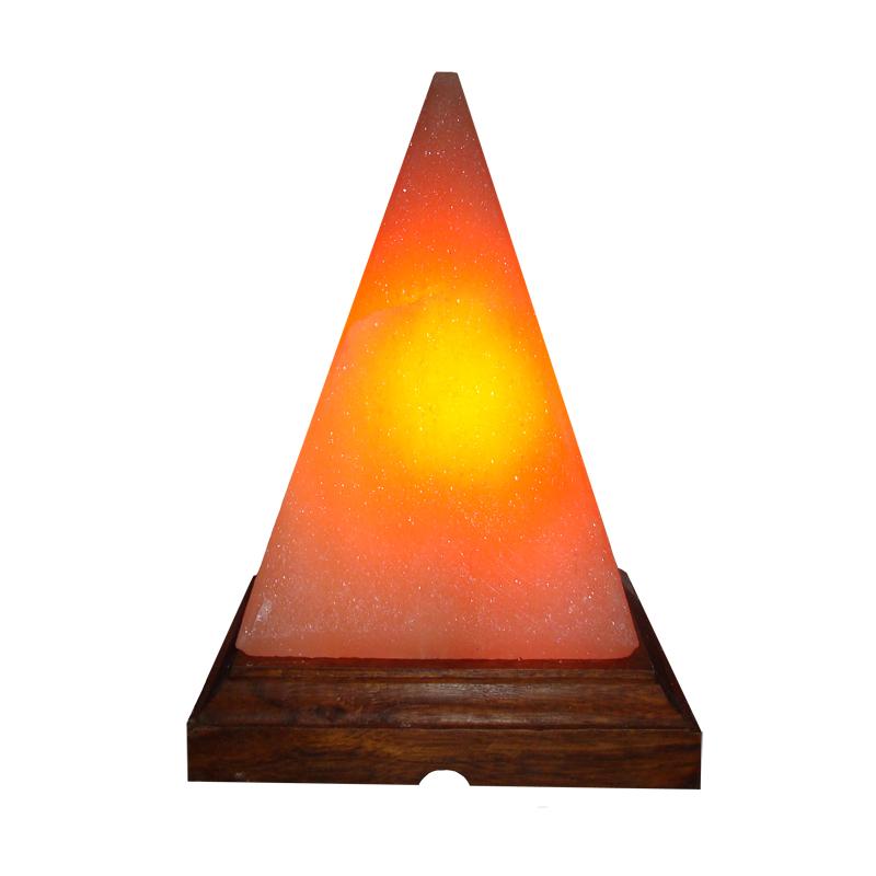 Pyramid Salt Lamp Image
