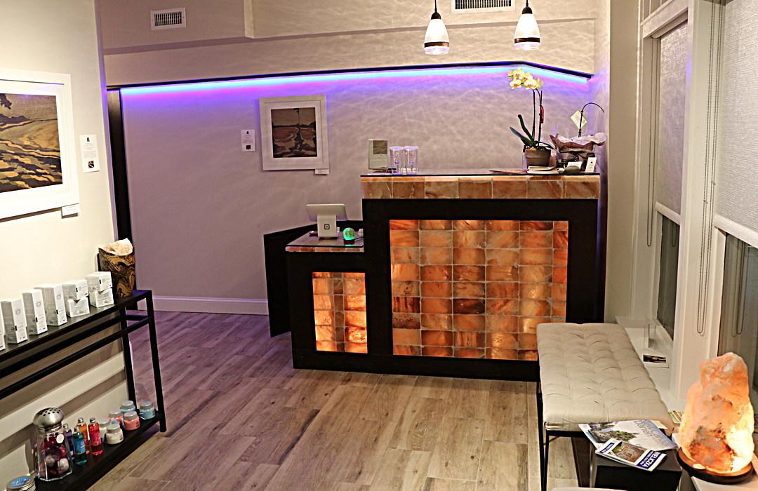 Custom Decor Including Reception Desks By Select Salt