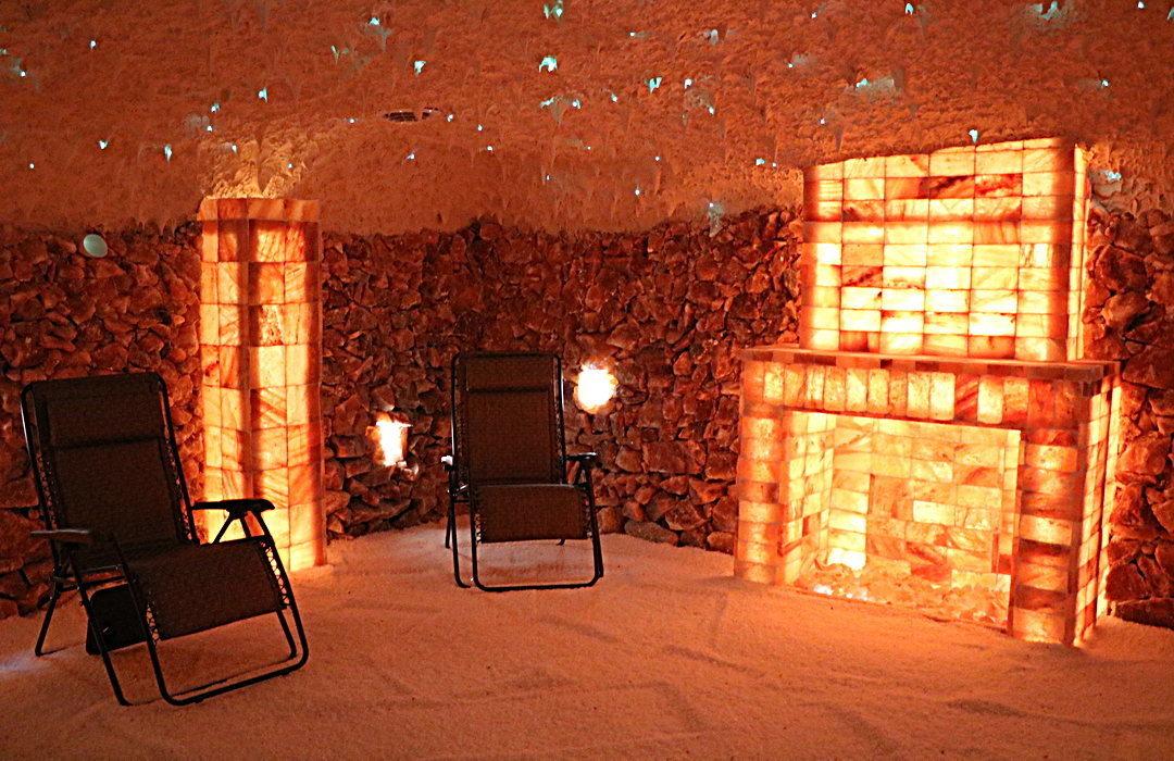 Himalayan Salt Room Construction By Select Salt | Salt Cave Therapy