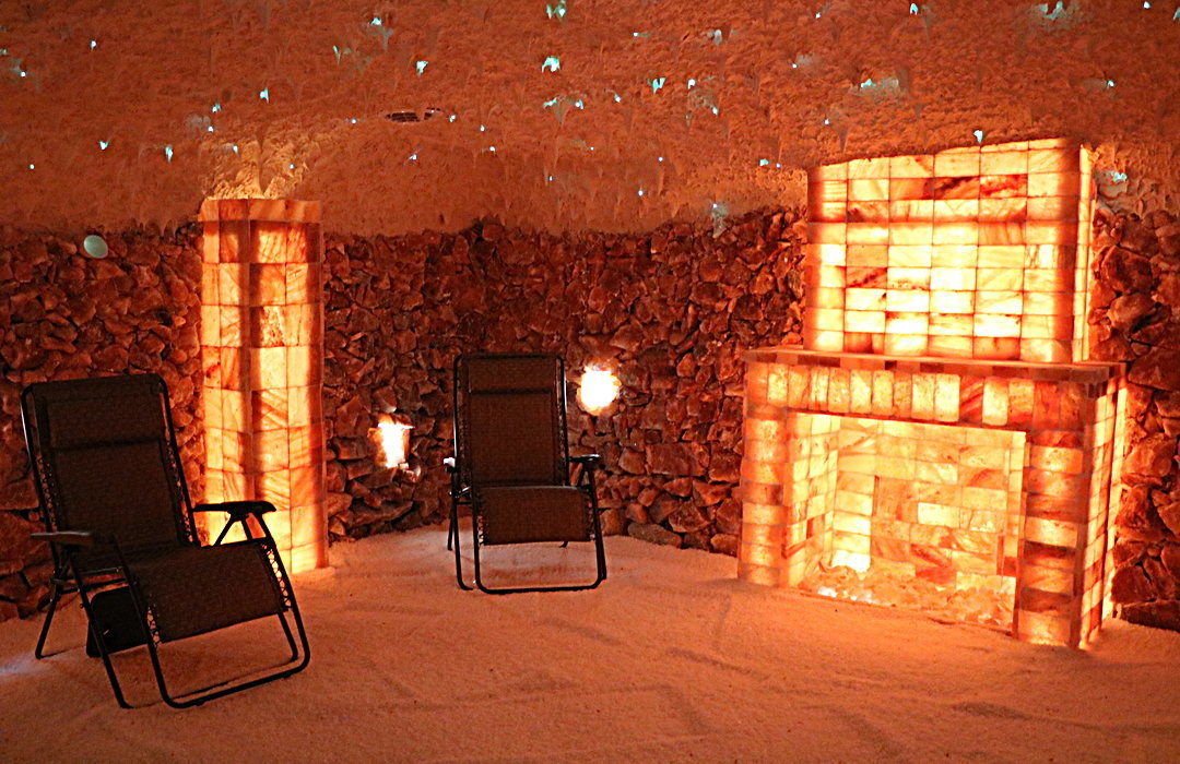 Himalayan Salt Room Construction By Select Salt | Salt Cave Therapy
