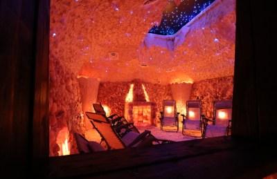 Salt Cave Constriction By Select Salt Inc