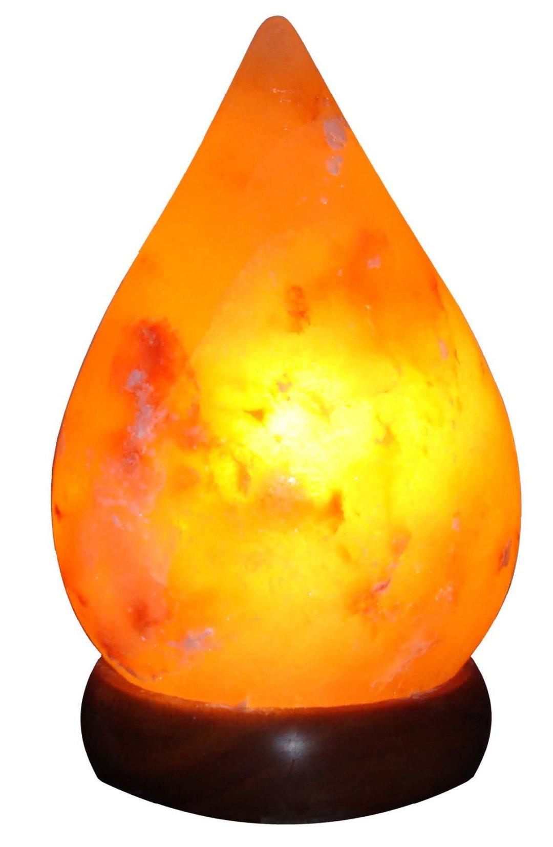 Tear Drop Salt Lamp Image