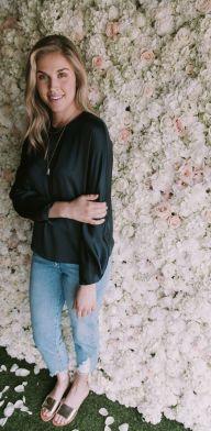 Vince silk blouse. Piedras Designs necklace. 3x1 jeans.