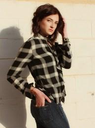 Derek Lam 10 Crosby shirt, Rag & Bone jeans, Lizzie Fortunato and Elizabeth & James jewelry.