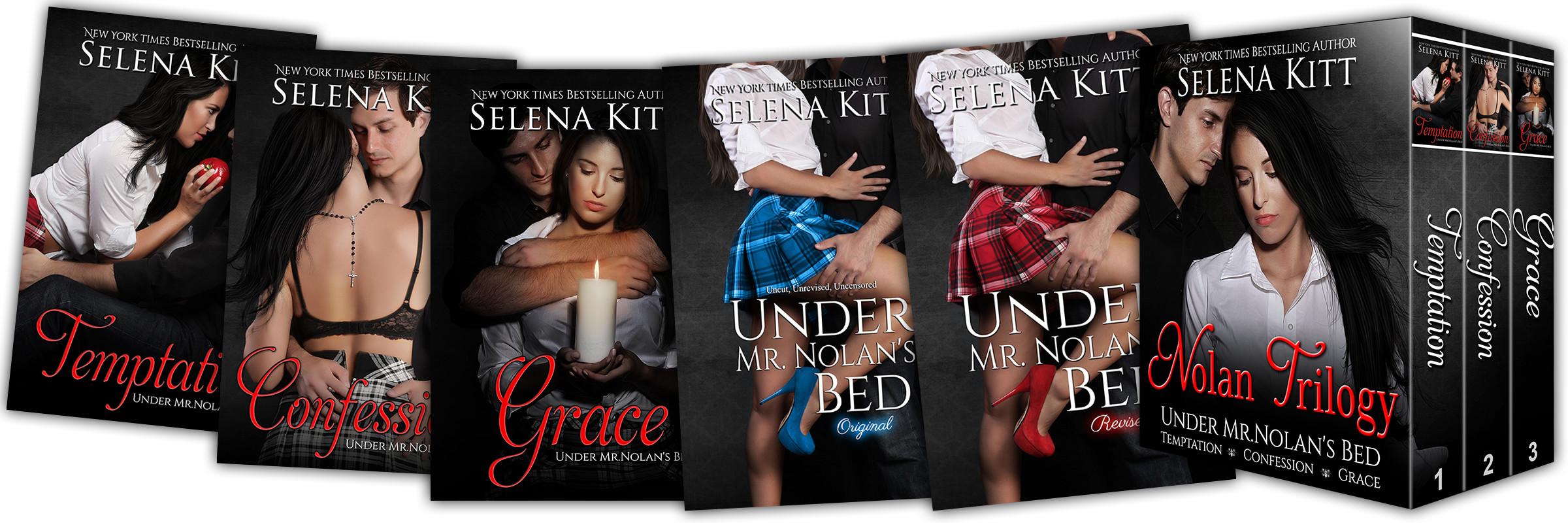 Under Mr. Nolan's Bed Trilogy by Selena Kitt