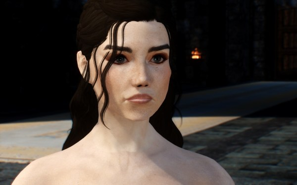 Skyrim Face Scars - Year of Clean Water