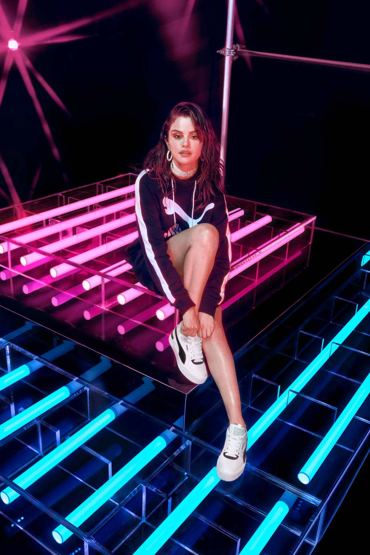 Selena Gomez poses for PUMA Spring/Summer 2020 'Cali Sport Heritage' Collection