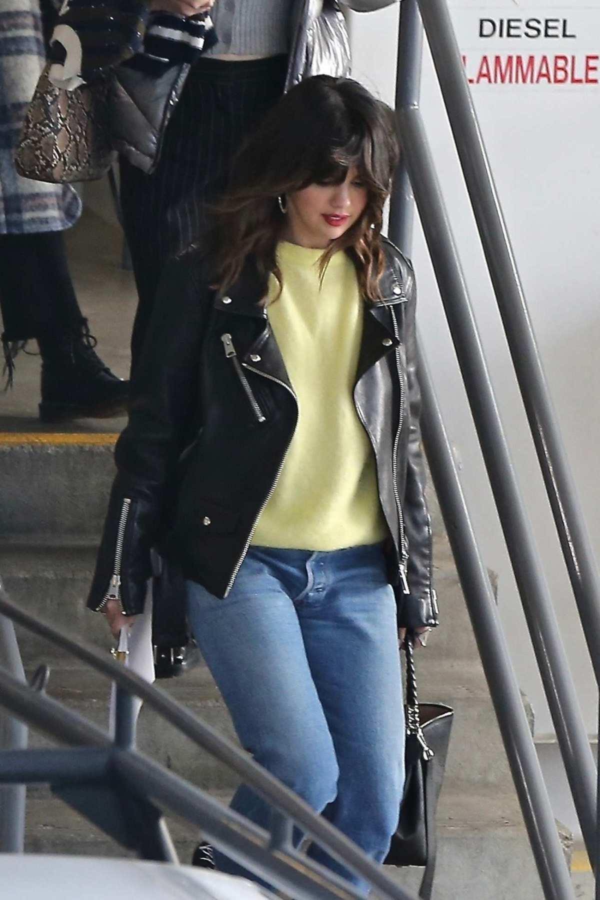 Selena Gomez in Los Angeles, California on Feb 4