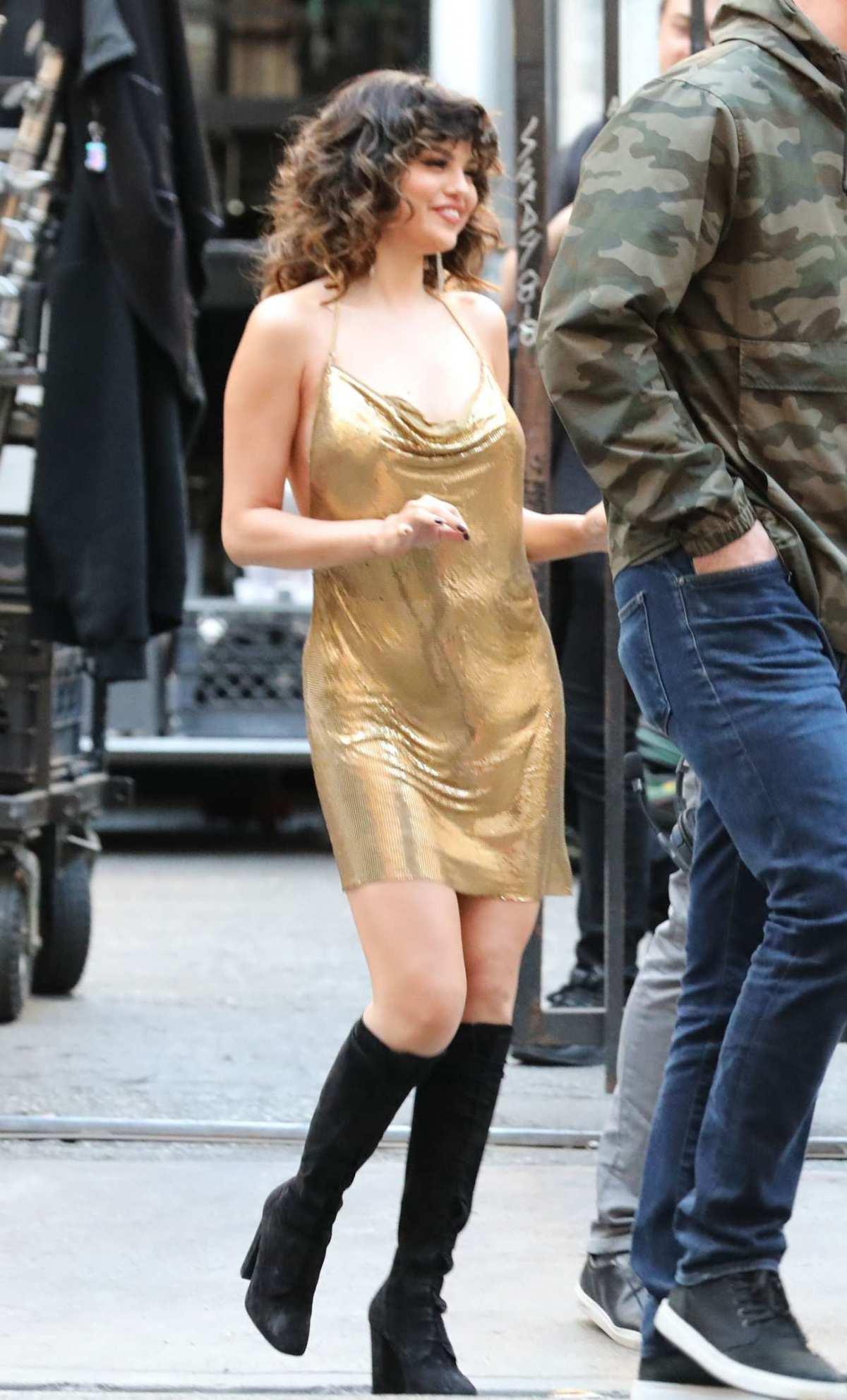 Selena Gomez Filming New Music Video on Jan 28