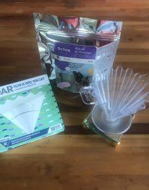 Café, Koar de acrílico e filtro para o Koar