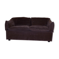 70s Sofa Slipcover For Sleeper Niels Bendtsen Eilerson Couch Fabric Brown Vintage Avr4jq7