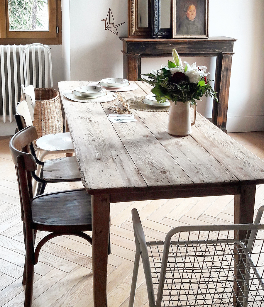 Table De Jardin En Bois D Occasion | Emejing Table De Jardin ...
