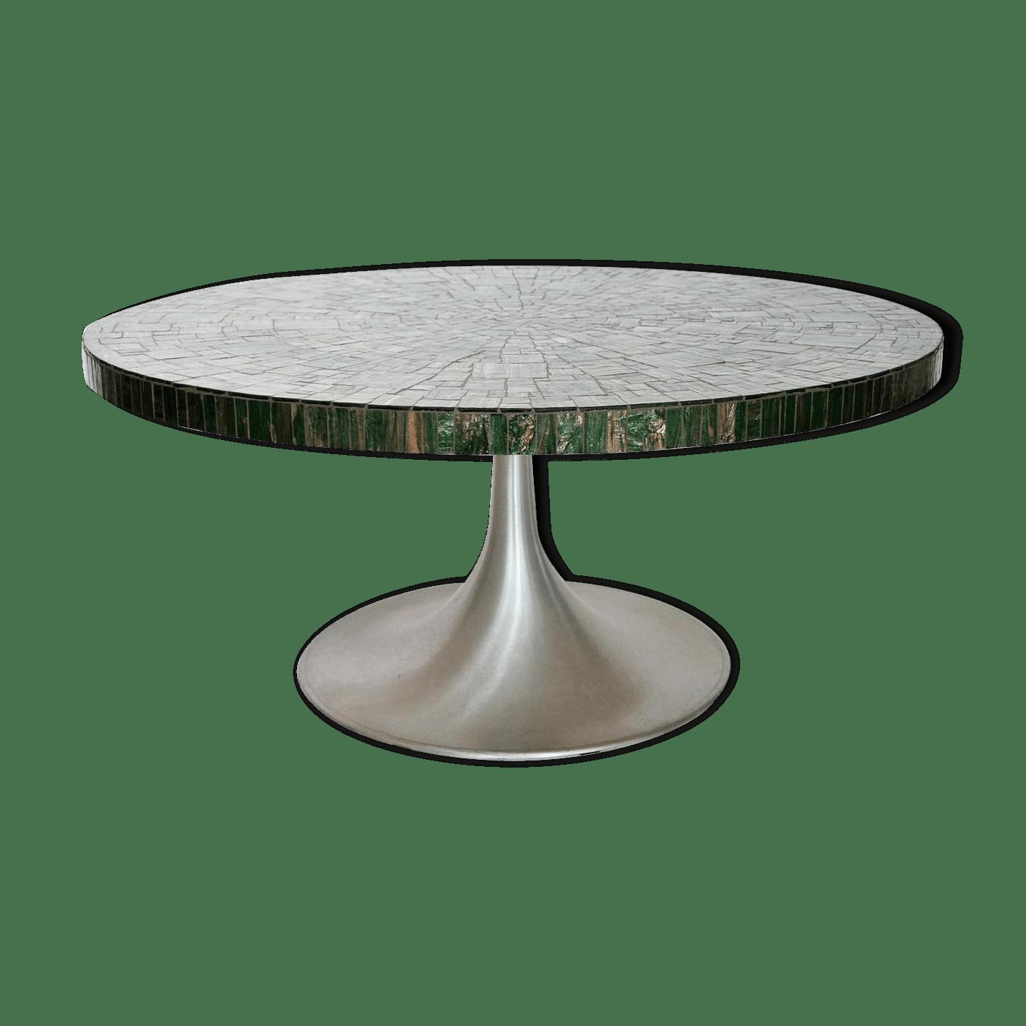 Table De Jardin Mosaique Maroc | Salon De Jardin En Fer Vert Jardin ...