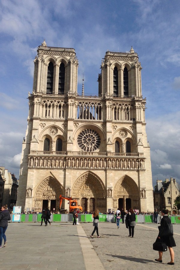 Listening Bells And Tolls Of Notre Dame Cathedral