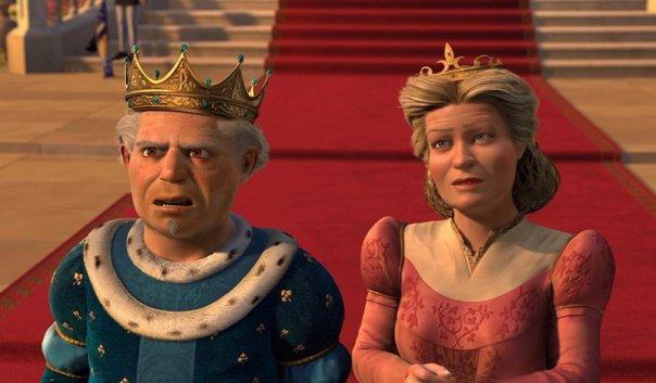 Shrek-rey-reina