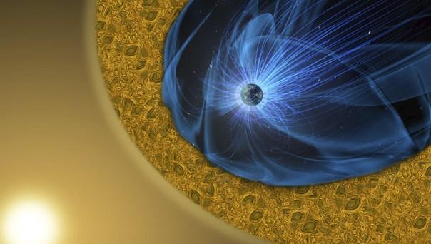 LA NASA REGISTRA FLUJOS SUAVES DE CHORROS DE ELECTRONES DE ALTA ENERGÍA QUE SE MUEVEN A UNA VELOCIDAD DE MÁS DE 15.000 KILÓMETROS POR SEGUNDO.