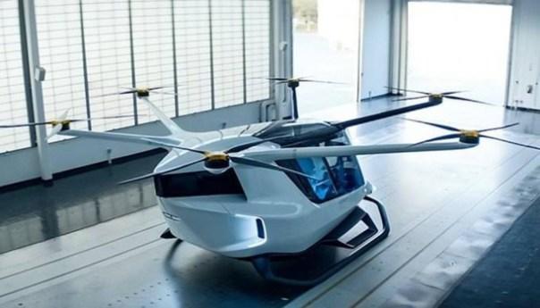 Skai Flying Car es la solución de movilidad de BMW y Alaka'i Technologies