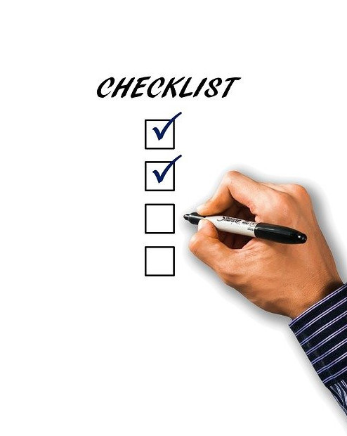 Ownership of self checklist