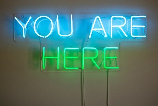 You are here in energy