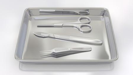 フェイスリフト手術の器具の画像