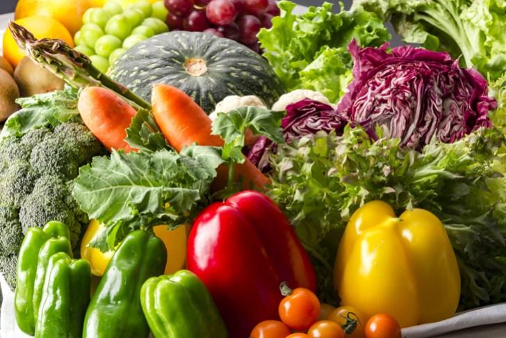 緑黄色野菜の画像